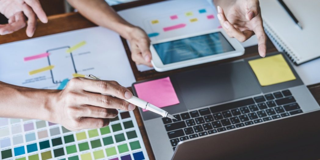 Spin Design Website Creative Process